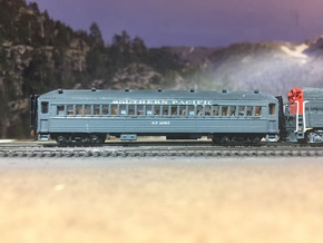 Bachmann 72' Coach Roof for Southern Pacific Subs in Smooth Fine Detail Plastic