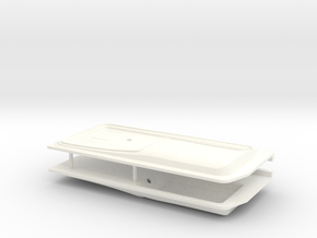 F150 Interior 058020-01 Tamiya F150 Door Panels in White Processed Versatile Plastic