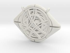 Eye Of Agamotto Pendant in White Premium Versatile Plastic