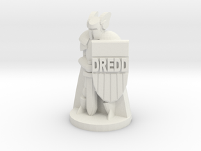 Paladin Dredd in White Natural Versatile Plastic