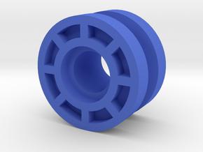 Machine Z Free Wheels.  in Blue Processed Versatile Plastic