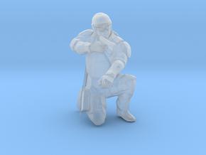 Swat-team - pointman in Smooth Fine Detail Plastic