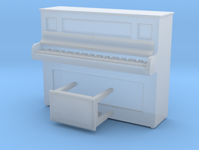 O Scale Piano in Smooth Fine Detail Plastic