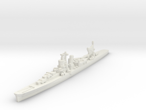 Agano cruiser 1/1800 in White Natural Versatile Plastic