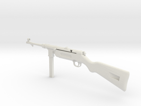 1/4th scale MP41  in White Natural Versatile Plastic