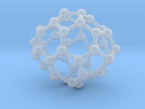 0652 Fullerene c44-24 d2 in Smooth Fine Detail Plastic
