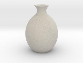 Vase porcelain / decanter in Natural Sandstone