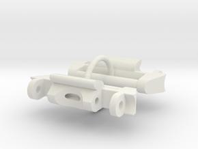 MudMaster GWG1000 NATO adapter v2 in White Premium Versatile Plastic