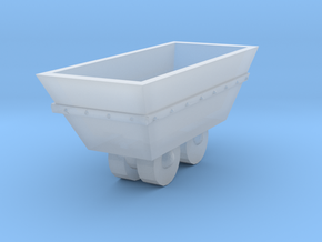O Scale mine cart in Smooth Fine Detail Plastic