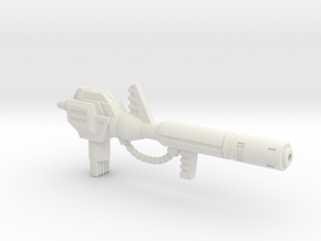 Electron Cannon for PotP Snarl in White Natural Versatile Plastic