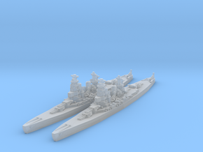 Amagi battlecruiser (1930s refit) (Axis & Allies) in Smooth Fine Detail Plastic