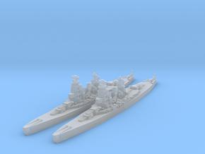 Amagi battlecruiser (1930s refit) (Axis & Allies) in Smooth Fine Detail Plastic