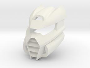 Kanohi Arkahna in White Premium Versatile Plastic