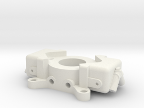 Carburetor (type 2) for velocity stack mount. in White Natural Versatile Plastic