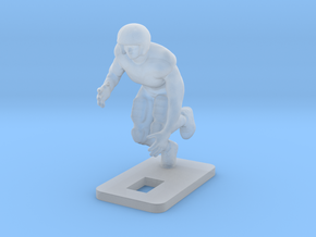 Right Outside Linebacker (2.2g) in Smooth Fine Detail Plastic