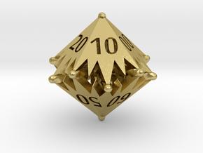 D00 Balanced - Starlight in Natural Brass