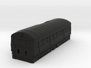 Plarail Compatible Railcar in Black Premium Versatile Plastic