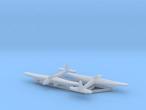 (1:700) (x2) Kugisho Tenga Jet Bomber  in Smooth Fine Detail Plastic