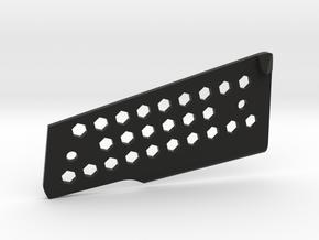 45 Hogue Grip Spacer - Left in Black Natural Versatile Plastic