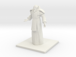 Cultist in White Natural Versatile Plastic