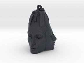 Nefertiti Face Earring (x3) in Black PA12