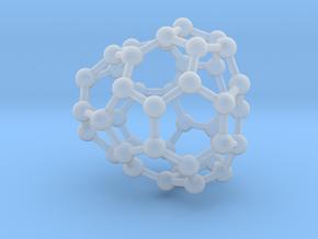 0656 Fullerene c44-28 cs in Smooth Fine Detail Plastic