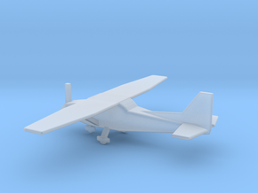 1/400 Scale Cessna 172 in Smooth Fine Detail Plastic