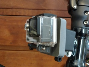 Brompton GoPro Mount in White Natural Versatile Plastic