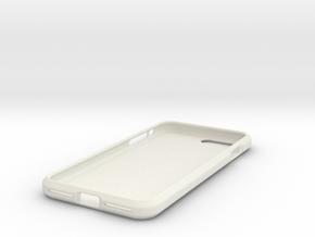 iPhone 8 Plus Case in White Natural Versatile Plastic