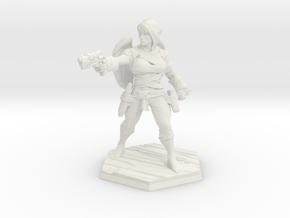 HERO # 1: Elf Angel [28mm Character] in White Natural Versatile Plastic