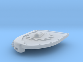 Left-handed Chainshield (Buzzsaw Droplet design) in Smooth Fine Detail Plastic: Small