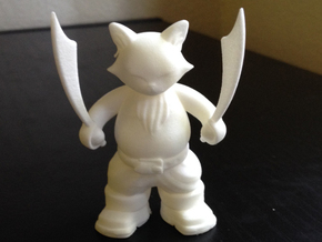 Captain Porkchop  in White Natural Versatile Plastic