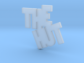 THE HUT in Smooth Fine Detail Plastic