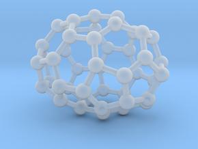 0665 Fullerene c44-37 d3h in Smooth Fine Detail Plastic