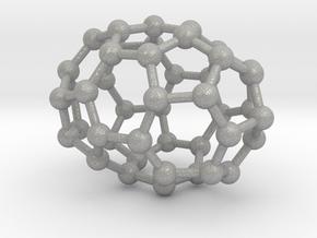 0666 Fullerene c44-38 d3d in Aluminum