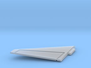 F8-144scale-07-LeftStabilizer in Smooth Fine Detail Plastic