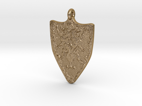 Cainhurst Badge in Polished Gold Steel
