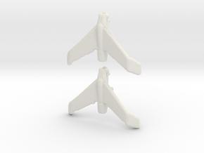 1:700  Hienkel P.1078 C in White Natural Versatile Plastic