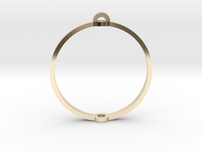 """World 1.25"""" (Ring) in 14K Yellow Gold"""