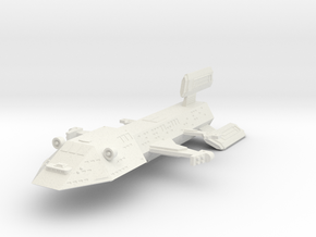 3125 Scale Kzinti Battleship (BB) SRZ in White Natural Versatile Plastic