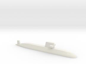Oyashio-class submarine, 1/2400 in White Natural Versatile Plastic