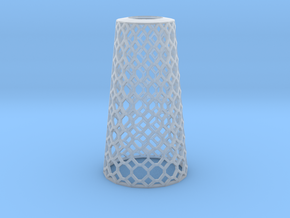 Lampshade_Cone_honey in Smooth Fine Detail Plastic