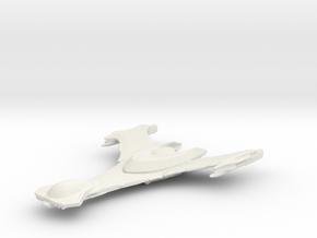 klingon scout in White Natural Versatile Plastic