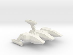 3125 Scale LDR Military Police Corvette CVN in White Natural Versatile Plastic