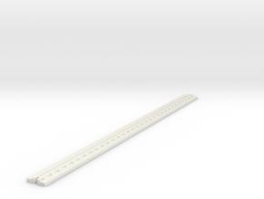Track For Explorer in White Natural Versatile Plastic