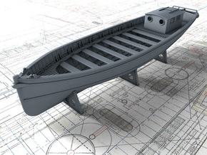 1/72 Royal Navy 45ft Motor Launch x1 in Smooth Fine Detail Plastic