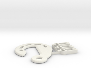 Plant Hanger Hooks (unified model) in White Natural Versatile Plastic
