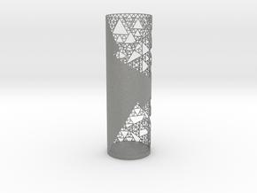 Sierpinski Decorative Vase in Gray PA12
