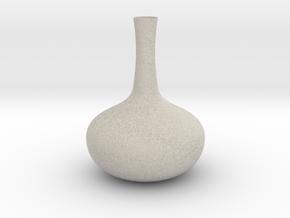 Vase Mod 001 in Natural Sandstone