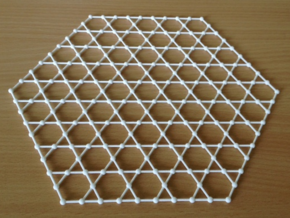 kagome lattice in White Strong & Flexible